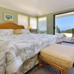 Guest Bedroom w/ King Bed at the Kapalua Golf Villas 2 Bedroom