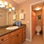Bathroom w/ Shower | Valley Isle Resort Studio