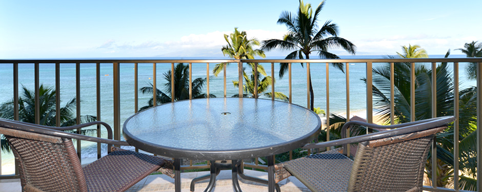 Oceanfront View at the Valley Isle Resort 1 Bedroom