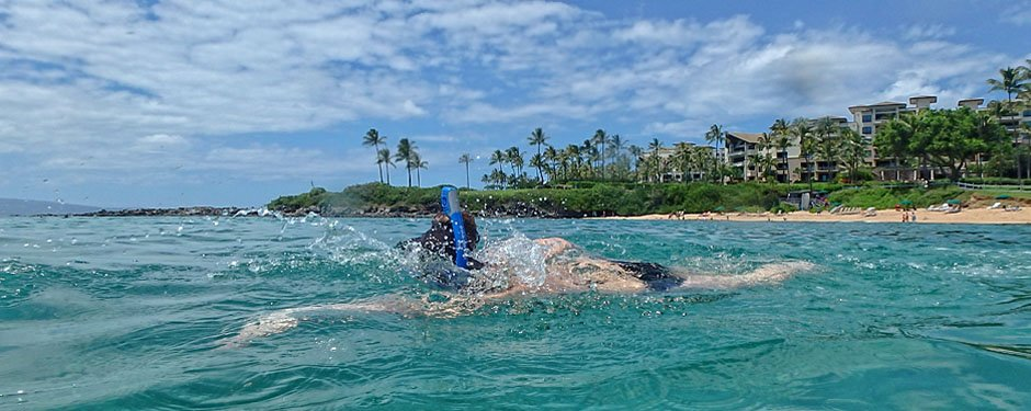 Kahana Beach Snorkeling at our Maui Condo Rentals