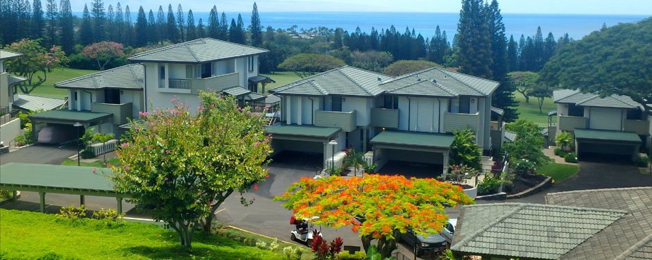 Kapalua Golf Villas view from our Maui Condo Rentals